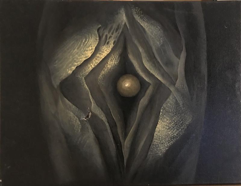early creation<br> oil on canvas  30x40 cm