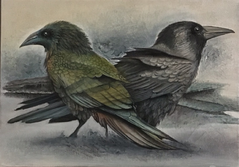 oil on canvas 35x50 cm