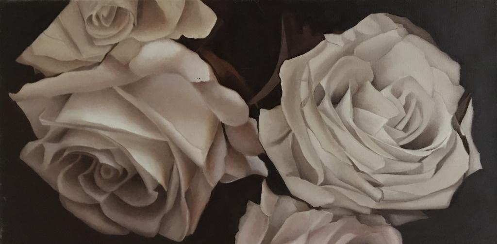 oil on canvas 40x80 cm .