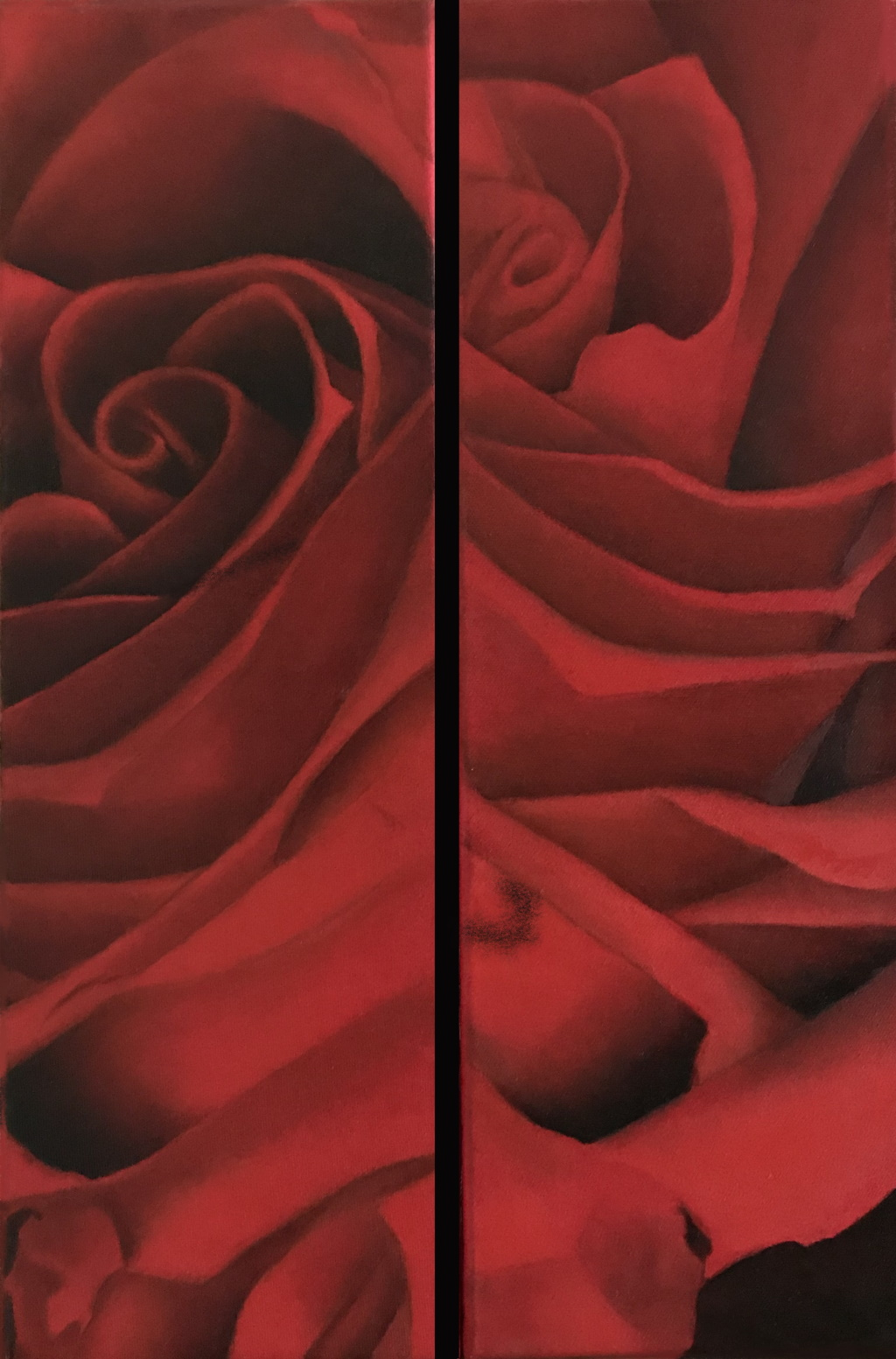 oil on canvas 20x60 20x60 cm