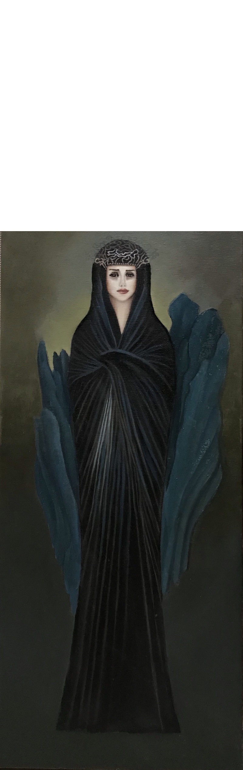 oil on canvas 65x30 cm