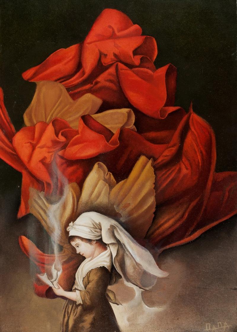 oil on canvas 70x50 cm
