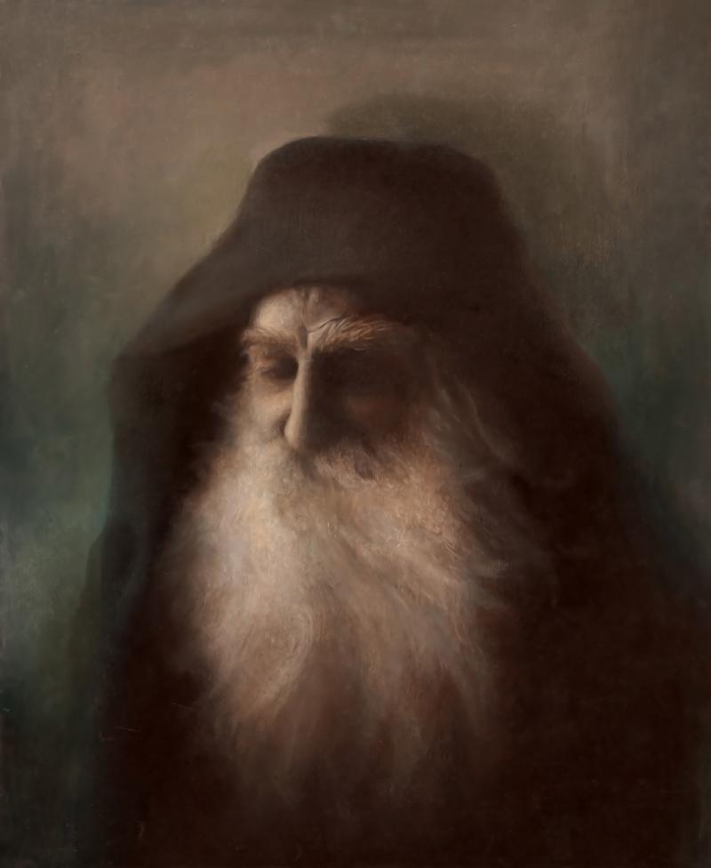 oil on canvas 45x37 cm